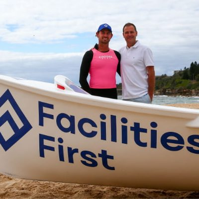 Facilities First supports Coogee SLSC boat crew